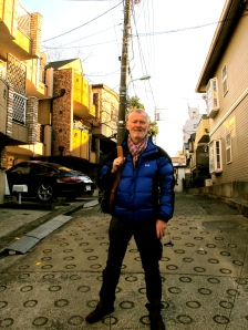 return to my old streets in Tokyo, 40 years on!