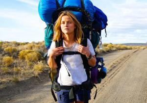 Reece Witherspoon as Strayed, also struggled with that gargantuan monster pack, even just filming.